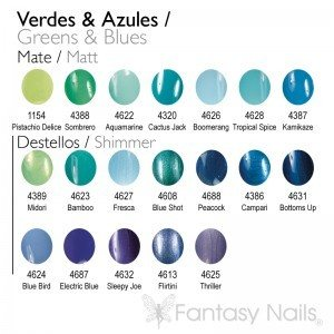 Green & Blue Shades Collection 15 ml
