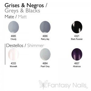 Grey & Black Shades Collection 15 ml