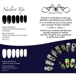 Nailart Tips 300 kpl