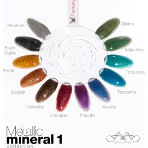 Metallic Mineral 1 Collection 15 ml