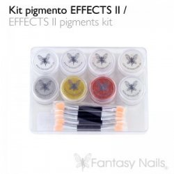 """Effects"" 2 Pigments Kit 8 x 2 gr 2943"