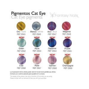 Cat Eye Effect Pigments 1 gr