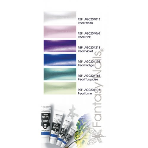Turner Acryl Gouache - Pearl Colours 20 ml